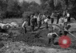 Image of Nazi Gestapo victims exhumed Polygone France, 1944, second 8 stock footage video 65675049516