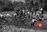 Image of Nazi Gestapo victims exhumed Polygone France, 1944, second 9 stock footage video 65675049516
