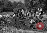 Image of Nazi Gestapo victims exhumed Polygone France, 1944, second 10 stock footage video 65675049516