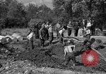 Image of Nazi Gestapo victims exhumed Polygone France, 1944, second 12 stock footage video 65675049516