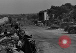 Image of wrecked equipment Loriol France, 1944, second 8 stock footage video 65675049520