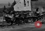 Image of wrecked equipment Loriol France, 1944, second 4 stock footage video 65675049521