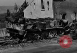 Image of wrecked equipment Loriol France, 1944, second 5 stock footage video 65675049521