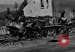 Image of wrecked equipment Loriol France, 1944, second 6 stock footage video 65675049521