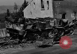 Image of wrecked equipment Loriol France, 1944, second 7 stock footage video 65675049521