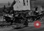 Image of wrecked equipment Loriol France, 1944, second 8 stock footage video 65675049521