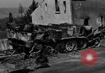Image of wrecked equipment Loriol France, 1944, second 9 stock footage video 65675049521