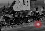 Image of wrecked equipment Loriol France, 1944, second 11 stock footage video 65675049521