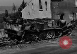 Image of wrecked equipment Loriol France, 1944, second 12 stock footage video 65675049521