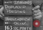 Image of displaced persons Bergzabern Germany, 1945, second 1 stock footage video 65675049524