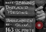 Image of displaced persons Bergzabern Germany, 1945, second 2 stock footage video 65675049524