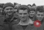 Image of Allied prisoners Moosburg Germany, 1945, second 4 stock footage video 65675049540