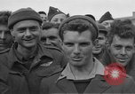 Image of Allied prisoners Moosburg Germany, 1945, second 5 stock footage video 65675049540