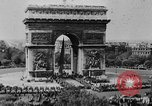 Image of General Charles de Gaulle visiting Arc de Triomphe Paris France, 1944, second 1 stock footage video 65675049552