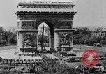 Image of General Charles de Gaulle visiting Arc de Triomphe Paris France, 1944, second 3 stock footage video 65675049552