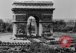 Image of General Charles de Gaulle visiting Arc de Triomphe Paris France, 1944, second 4 stock footage video 65675049552