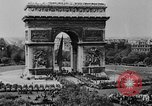 Image of General Charles de Gaulle visiting Arc de Triomphe Paris France, 1944, second 5 stock footage video 65675049552