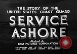 Image of Coast Guard stations United States USA, 1935, second 7 stock footage video 65675049568