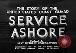 Image of Coast Guard stations United States USA, 1935, second 9 stock footage video 65675049568