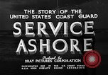 Image of Coast Guard stations United States USA, 1935, second 10 stock footage video 65675049568