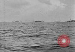 Image of United States ships in convoy to Brest, France, in World War 1 Atlantic Ocean, 1918, second 2 stock footage video 65675049590