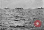 Image of United States ships in convoy to Brest, France, in World War 1 Atlantic Ocean, 1918, second 11 stock footage video 65675049590