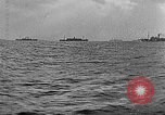 Image of United States ships in convoy to Brest, France, in World War 1 Atlantic Ocean, 1918, second 12 stock footage video 65675049590
