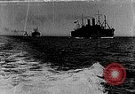 Image of United States destroyers arriving in France in World War I Brest France, 1918, second 1 stock footage video 65675049591