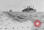 Image of United States destroyers arriving in France in World War I Brest France, 1918, second 2 stock footage video 65675049591