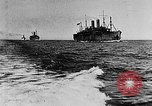 Image of United States destroyers arriving in France in World War I Brest France, 1918, second 3 stock footage video 65675049591