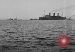 Image of United States destroyers arriving in France in World War I Brest France, 1918, second 8 stock footage video 65675049591