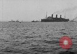 Image of United States destroyers arriving in France in World War I Brest France, 1918, second 10 stock footage video 65675049591