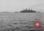 Image of United States destroyers arriving in France in World War I Brest France, 1918, second 11 stock footage video 65675049591