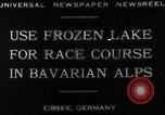 Image of Eibsee Lake Eibsee Germany, 1930, second 3 stock footage video 65675049599