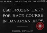 Image of Eibsee Lake Eibsee Germany, 1930, second 6 stock footage video 65675049599