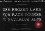 Image of Eibsee Lake Eibsee Germany, 1930, second 9 stock footage video 65675049599