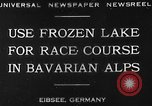 Image of Eibsee Lake Eibsee Germany, 1930, second 10 stock footage video 65675049599