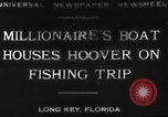 Image of Herbert Hoover Long Key Florida USA, 1930, second 10 stock footage video 65675049600