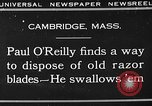 Image of Paul O' Reilly Cambridge Massachusetts USA, 1930, second 2 stock footage video 65675049602