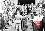 Image of wedding ceremony Sarasota Florida USA, 1930, second 10 stock footage video 65675049603