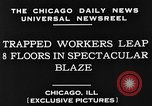 Image of skyscraper Chicago Illinois USA, 1930, second 4 stock footage video 65675049605