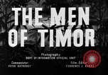 Image of Australian troops Timor, 1945, second 3 stock footage video 65675049609