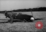 Image of German Messerschemitt aircraft United Kingdom, 1940, second 8 stock footage video 65675049623