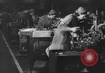 Image of British aircraft factory United Kingdom, 1940, second 2 stock footage video 65675049628