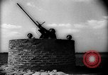 Image of British antiaircraft gun emplacements Battle of Britain United Kingdom, 1940, second 4 stock footage video 65675049634