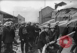 Image of building on fire from blitz United Kingdom, 1940, second 10 stock footage video 65675049637