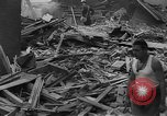 Image of Clearing debris after blitz United Kingdom, 1940, second 3 stock footage video 65675049638