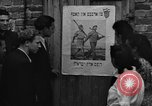 Image of displaced Jews Germany, 1949, second 12 stock footage video 65675049644