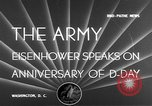 Image of General Dwight D Eisenhower Washington DC USA, 1950, second 6 stock footage video 65675049652