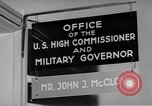 Image of John J Mccloy Germany, 1950, second 4 stock footage video 65675049654